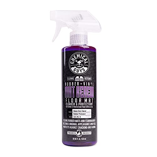 Chemical Guys CLD_700_16 Floor Mat Cleaner and Protectant(Rubber + Vinyl), 16 fl. oz