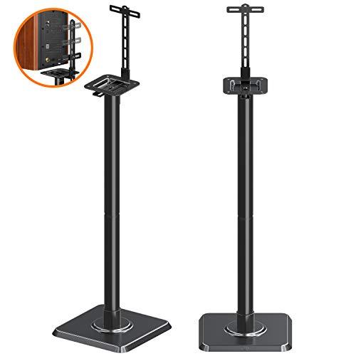 Mounting Dream Lautsprecherständer Bücherregal Lautsprecherständer für universelle Satellitenlautsprecher, 2er Set für Bose Polk JBL Sony Yamaha und andere - 11lbs Kapazität