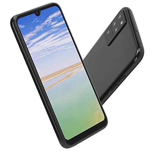 PUSOKEI Smartphone Desbloqueado (1GB + 16GB) con Pantalla FHD + de 6.5 Pulgadas, cámaras de 2MP + 5MP, Android 6.0, batería de 4800mAh - WiFi, GPS, Bluetooth, teléfono móvil con Doble SIM(EU)