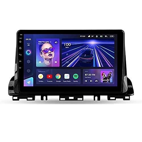 SuRose Radio Coche Pantalla, Reproductor Multimedia CC3 para Kia Cerato 4 2018-2020 Radio de Coche Video Android 10 Navegación GPS WiFi 4G Control del Volante DSP Carplay con cámara de visión Trasera