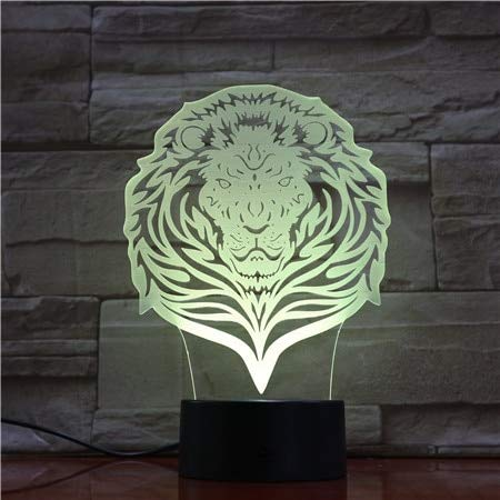 Lion Night Light Touch Control Remoto Visual