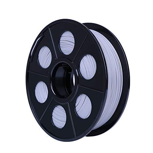 YANGDONG 1kg / Rolle 3D-Drucker Seidenfaden, 1,75mm PLA-Umweltschutzmaterial, 20 Farben Optional, 3D-Drucker, Druckstift, Graffiti-Stiftmaterial (Color : Grey)