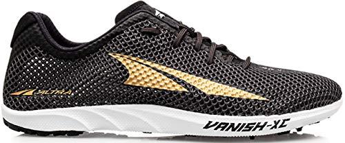 ALTRA Women's ALW1912X Vanish XC Running Shoe, Black/Gold - 8.5 M US