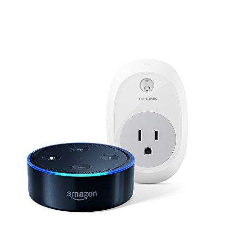 Echo Dot (2nd Generation) - Black + TP-Link Smart Plug