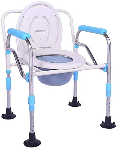 Cheapest Prices! ZWJ-Shower Chair Commode Chair - Raised Toilet Seats - Patient Medical Perching Sto...