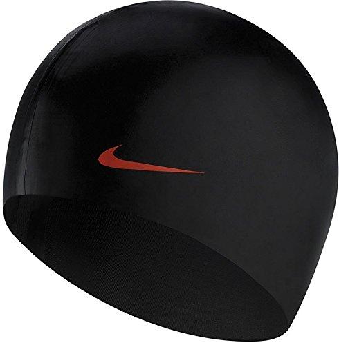Nike Au C 93060 0 001 Black Gorro De Natación, Unisex Adulto, Talla Única