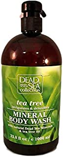 Mineral Body Wash with Dead Sea Minerals & Scented Extracts (Tea Tree)