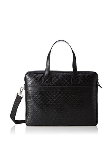 Emporio Armani Laptop Tasche schwarz 29.5 cm