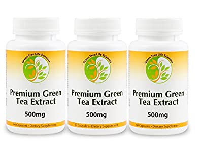 Premium Green Tea Extract Great Fat Burner for Weight Loss - Powerful Antioxidants