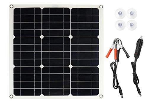 Hcxh-A 25W 12V-18V Solar Panel Tri Flow-Ladegerät Batteriehalterung, USB-Ladegerät for Anzünder, Gebrauchtwagen in Autos und Motorrädern