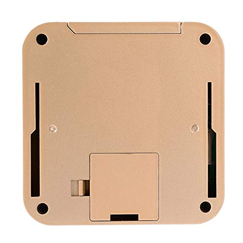 XINL Mirilla de Puerta Digital, Visor de Timbre Inteligente antirrobo de aleación de Zinc antirrobo, Seguro para la Oficina en casa