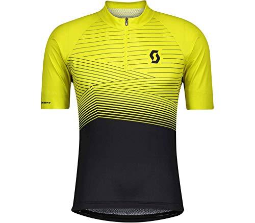 Scott Endurance 20 Fahrrad Trikot kurz gelb/schwarz 2021: Größe: L (50/52)