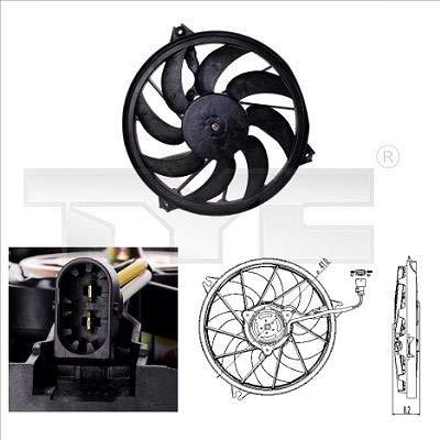 TYC 826-0003 - Ventilador de motor