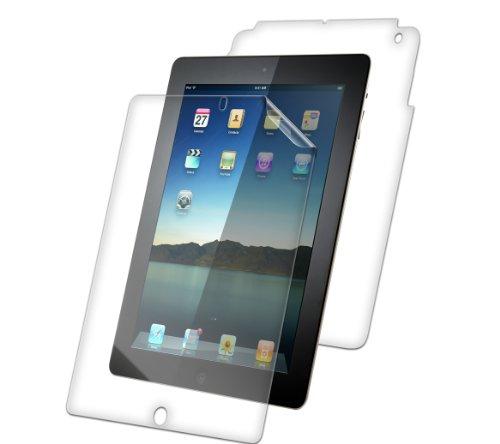 ZAGG invisibleSHIELD unsichtbares Schild - klare Folie Felle (Full Body 1 x Screen Protector + 1 x Rücken-Protektor) für Apple neue iPad 2 und 3