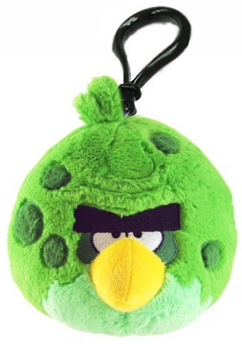 Angry Birds Space Green Bird Backpack Cllip