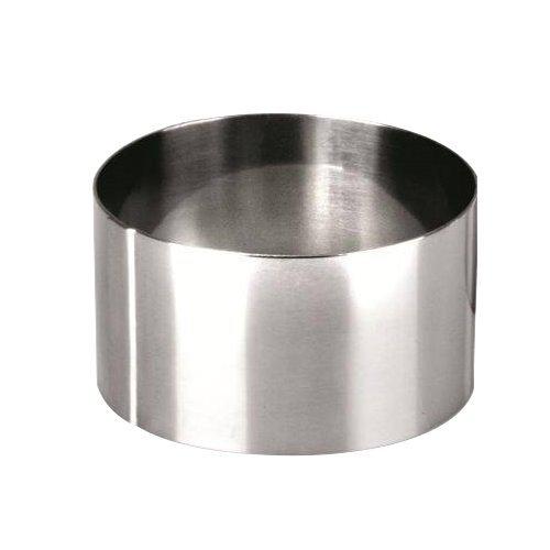 Ibili Clasica Dessertring, Tortenring, Kuchenring rund, 24 cm Durchmesser, 4,5 cm Höhe, 1 Stück