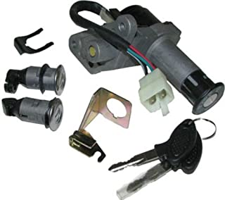 IGNITION KEY SWITCH ASSEMBLY SET FOR JONWAY 150QT-12 150CC SCOOTER MOPED NEW