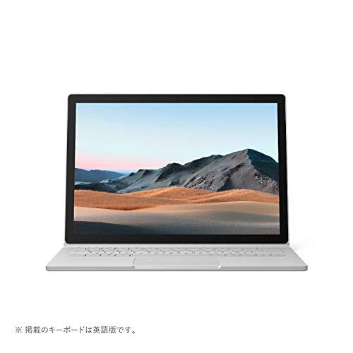 マイクロソフト Surface Book 3 [サーフェス ブック 3 ノートパソコン] Office Home and Business 2019 / 13.5 インチ PixelSense™ ディスプレイ / Core i7 / 32GB / 512GB dGPU搭載 SLK-00018