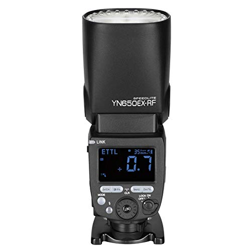 Yongnuo YN650EX-RF Wireless Flash Speedlite GN60 24pcs LED lamp Beads TTL HSS Master Slave Flash with Built-in 2.4G RF System for Canon DSLR Camera