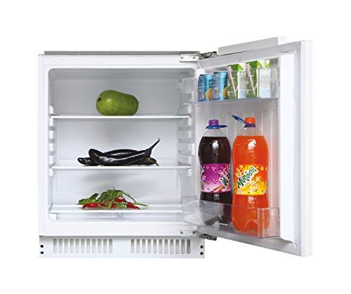 Candy CRU 160 NE/N, Frigorífico pequeño de integración, Sin congelador, 135l, Iluminación interna, Puerta reversible, 40dba, Clase F, Blanco