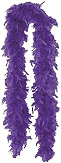 Amscan Costume Accessory Feather Boa - Purple