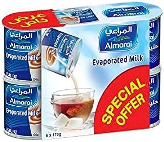 Almarai Full Fat Evaporated Milk, 6 x 170G