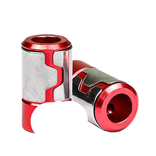 Anillo magnético 1/4'Punta de destornillador magnético de aleación de aluminio ful para broca anticorrosión de vástago de 6,35 mm-B tipo 2 uds
