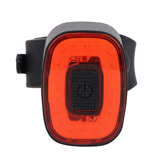 Keenso Luz Trasera de Bicicleta COB LED, luz Trasera de Freno de inducción Inteligente Brillante de Carga USB 100LM para Regalos