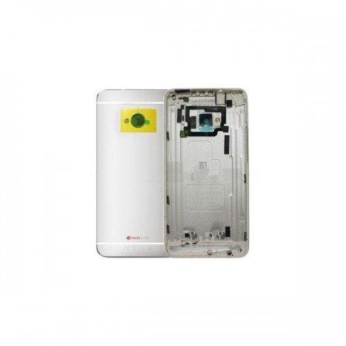 Hintere Abdeckung für HTC one M7 - Silber
