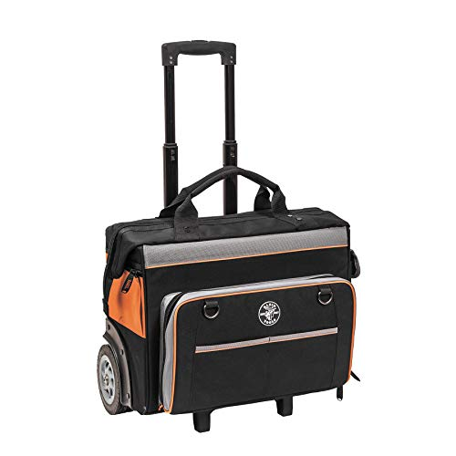Klein 55452RTB 24-Pocket Tradesman Pro Rolling Tool Bag