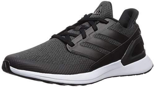 adidas RapidaRun, Zapatillas para Correr Unisex niños, Negro Carbono Blanco, 36 EU