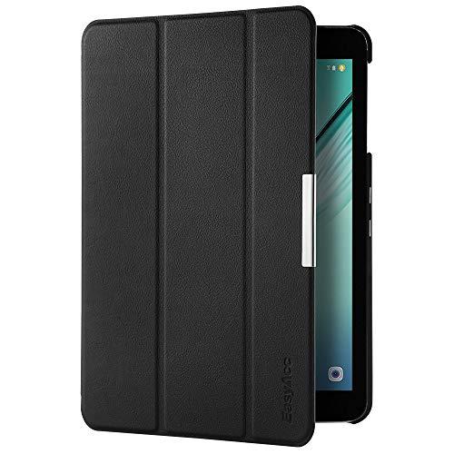 EasyAcc Samsung Galaxy Tab S2 9.7 Hülle, Ultra Dünn Case mit Standfunktion/Auto Wake up/Sleep Funktion PU Leder Hüllen für Samsung Galaxy Tab S2 9.7 Zoll (T810/ T813/ T815/ T819) Schwarz