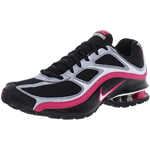 Nike Women's Reax Run 5 Running Shoes, Black/White/MTLC Cool Grey, 7 M US