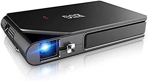 Proyector móvil WiFi de Video Full HD, batería incorporada de Gran Capacidad, disipación de Calor eficiente, Compacto y portátil, visualización Familiar en 3D Adecuada