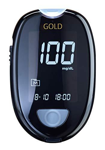 GlucoCheck GOLD Starter-Set (mg/dl) mit 60 Blutzuckerteststreifen