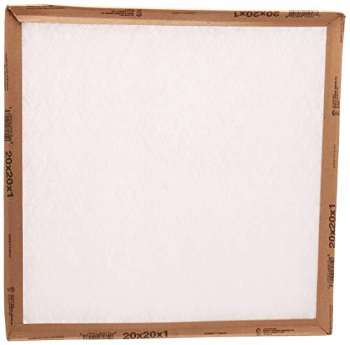 20x20x1, Percisionaire Ez Flow II Front Panel MERV 4, 10055.012020, Pack12