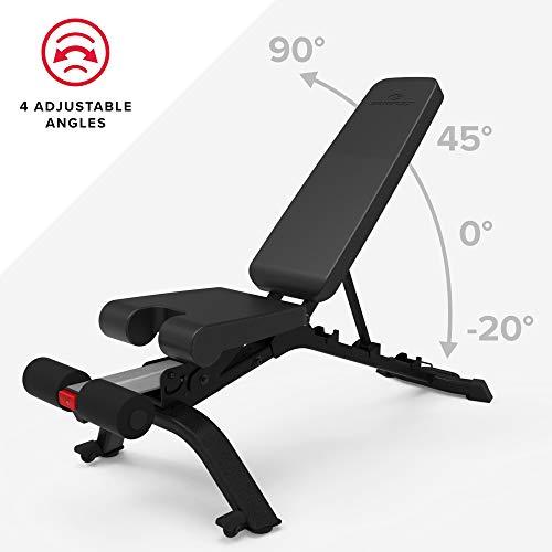 Bowflex 3.1S Adjustable Bench, Black