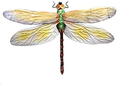 4a9ba8e82 Bloomsbury Market Contemporary Dragonfly Handmade Metal Multi-Colored Wall  Decor with Mounting Hardware