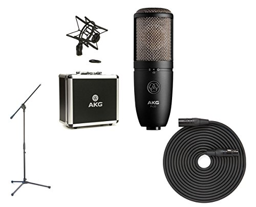 AKG P420 + Boom Stand + Cable