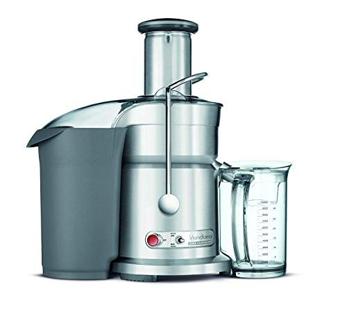 Breville RM-800JEXL Die-Cast Juice Fountain Elite 1000-Watt Juice Extractor (Renewed),stainless...
