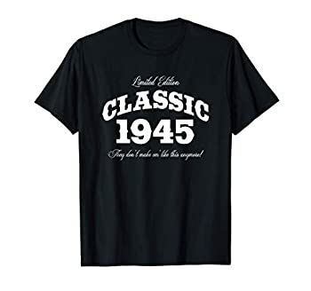 Gift for 76 Year Old  Vintage Classic Car 1945 76th Birthday T-Shirt