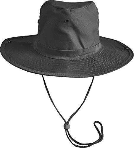 normani Original Australian Outdoor Buschhut Farbe Black Größe 57