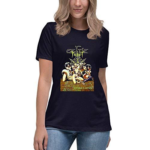 Cel.tic Fr.ost - EMP.eror's Return Art designT Shirt Women's Short Sleeve Women's V-Neck T-Shirt