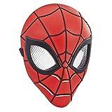Maschera da eroe ispirata a spider-man – il modello della maschera è ispirato alla classica maschera dell'eroe spider-man di peter parker In costume come peter parker – con questa maschera stilizzata i bambini possono vestirsi come peter parker Decor...