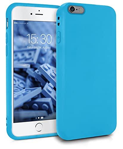 MyGadget Cover per Apple iPhone 6 / 6s - Custodia Protettiva in Silicone Morbido – Case TPU Ultra Flessibile - Protezione Antiurto & Antigraffio Blu Chiaro