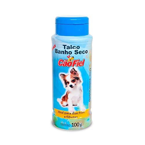 Talco Banho Seco Cao Fiel 100g Aic para Cães