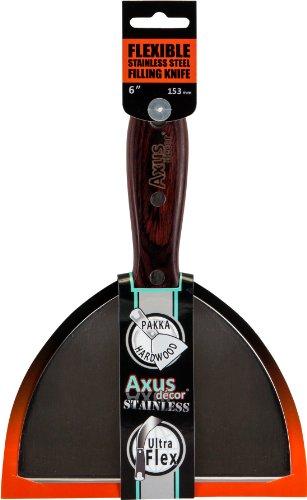 Axus Décor Spatule flexible Acier inox 15,24 cm