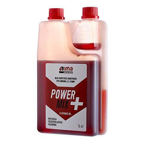 IMA Motoröl Mischung Power Mix synthetisch für Motoren 2 Takt 1 Liter - Motorsäge Motorsense