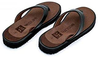 MEDLIFE Women's PU Diabetic & Orthopedic Footwear- Brown (Size 4-10)