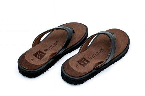 Medlife Orthopedic & Diabetic Care Footwear/Slipper/Chappal for Women with Extra Cushioning (Brown, 5)